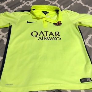 Nike Dri -fit youth large Messi polo